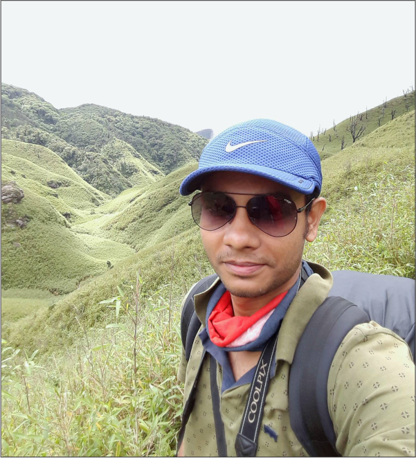 Giridas Maiti;  CSIR PhD Fellow  (2015-)